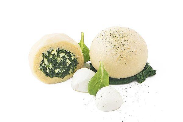 Spinat Mozzarella Knödel tiefgekühlt von Caterline