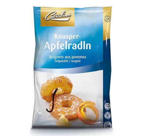 Tiefkühl Apfelradln verpackt von Caterline
