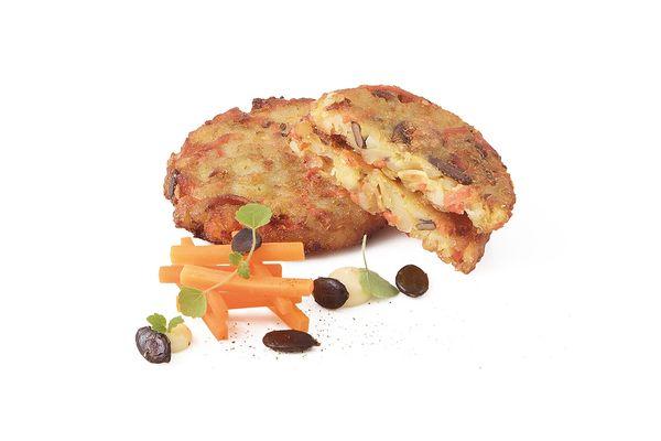 Kartoffel Kürbiskern Rösti tiefgekühlt von Caterline